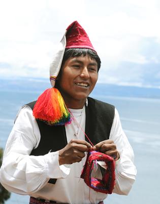 タキーレ村の生産者たち